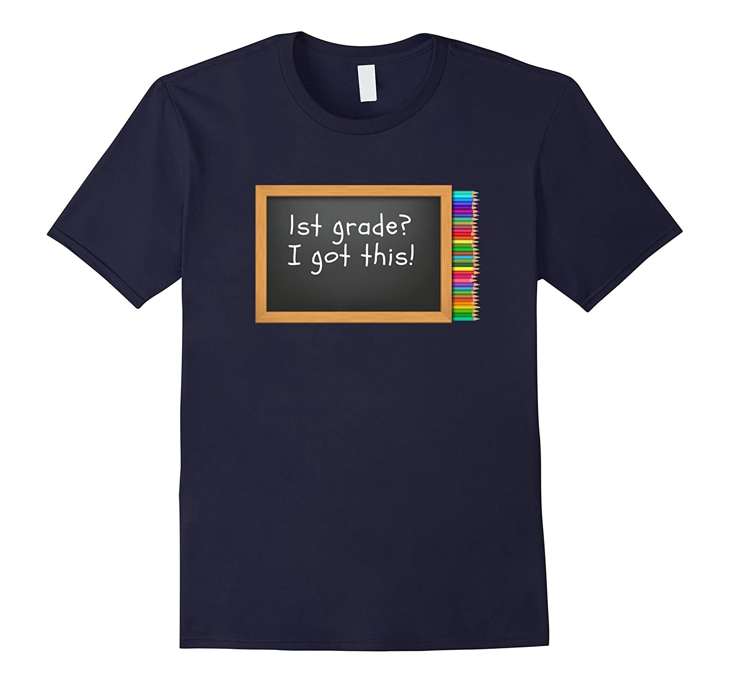 1st grade new school year I got this t-shirt-Art