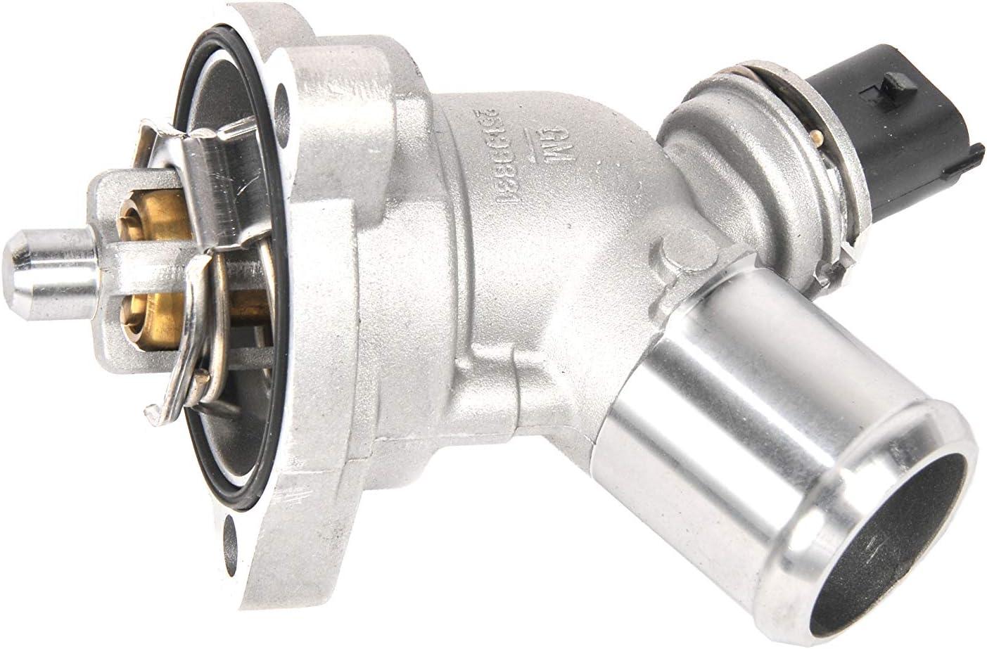 New OEM Thermostat - 2013-2015 Spark 1.2L 25199831 w//Housing /& Sensor