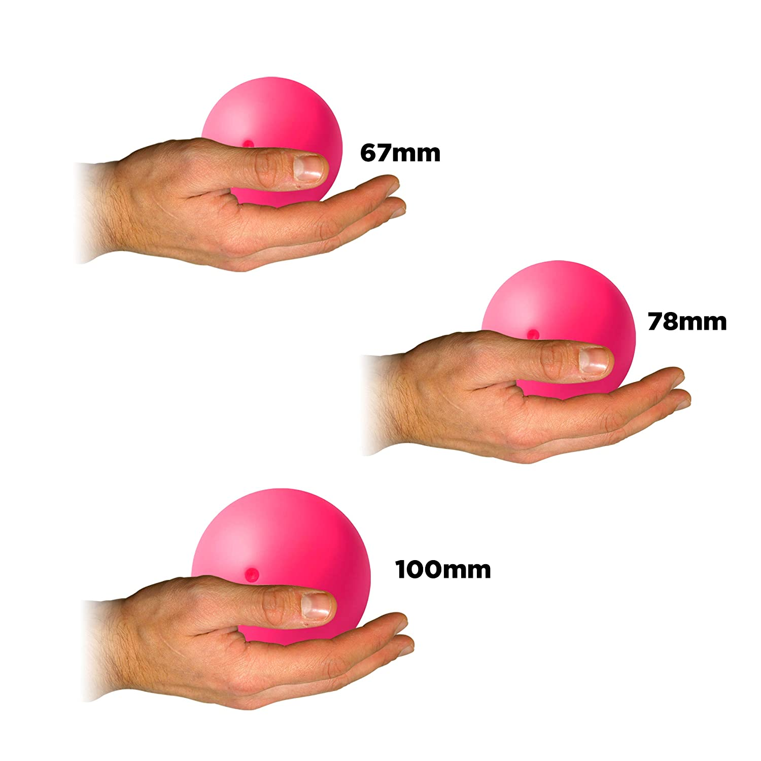 Body Rolling Manipulation and Includes Flames N Games Bag Set Includes 1 SIL-X Stage Ball Play SIL-X Stage Balls Blue, 100mm Available in 3 Sizes for Contact Juggling