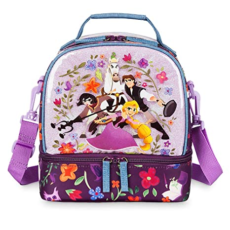 1384850dae3 Image Unavailable. Image not available for. Color  Disney Rapunzel Lunch  Tote - Tangled  ...