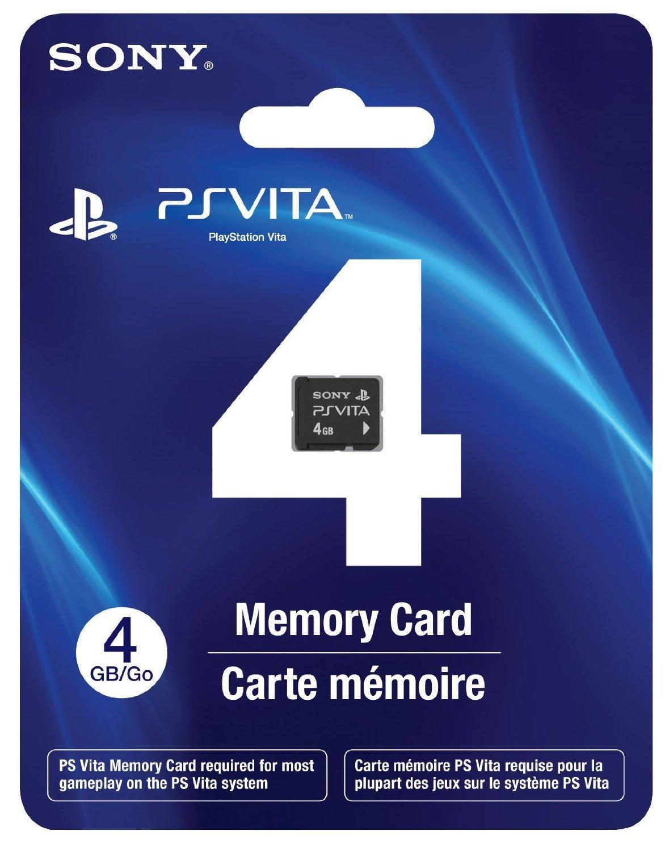 Sony PS Vita Memory Card 4GB: Amazon.es: Videojuegos