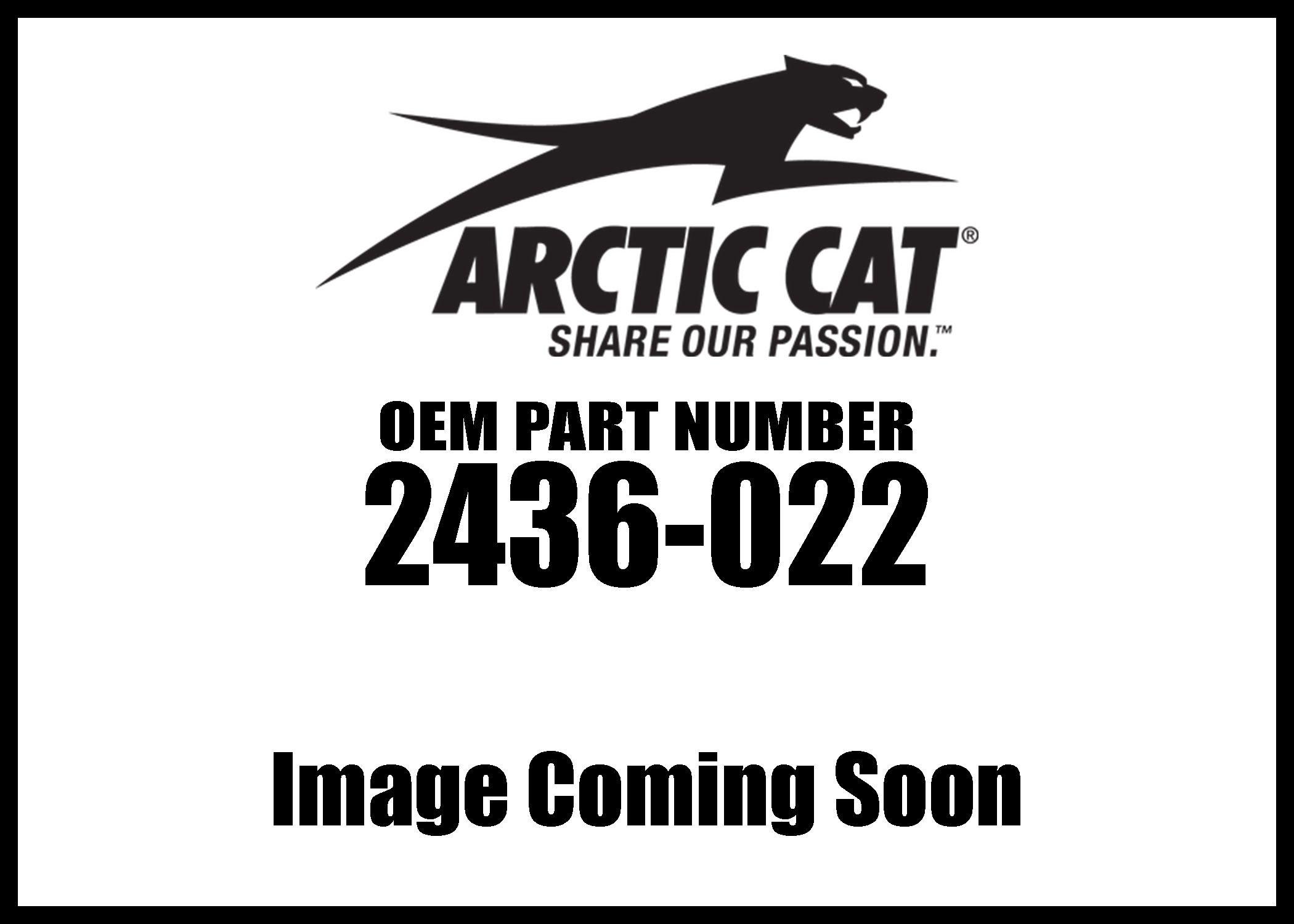 Arctic Cat 2436-022 Wildcat Trail/Sport Shoulder Bag