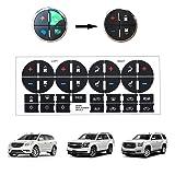 XJDAMZ AC Dash Button Repair Kit / Radio Button