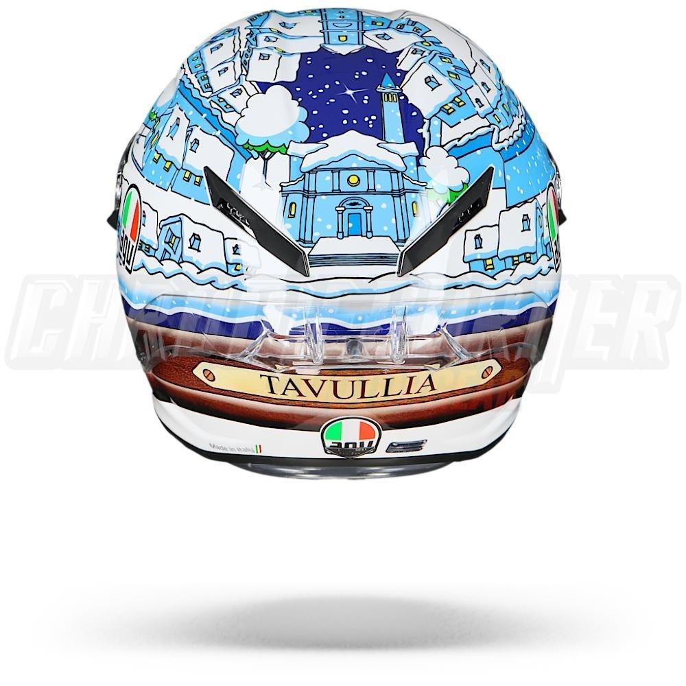 Amazon.es: AGV PISTA GP-R - Casco de moto Valentino Rossi VR46, diseño de invierno, casco de carreras