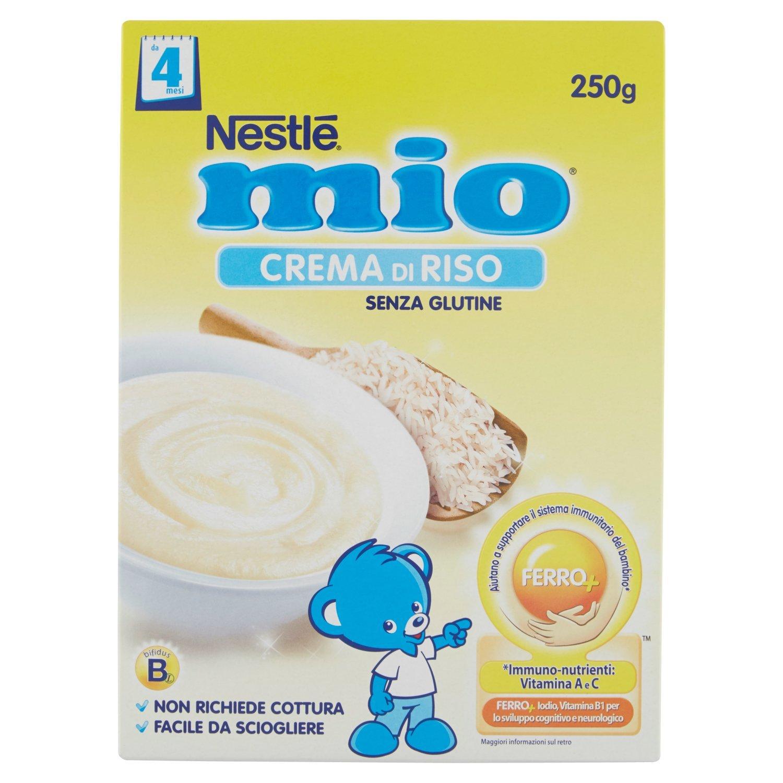 Nestlé Mio Crema di Riso senza Glutine da 4 Mesi - 250 gr