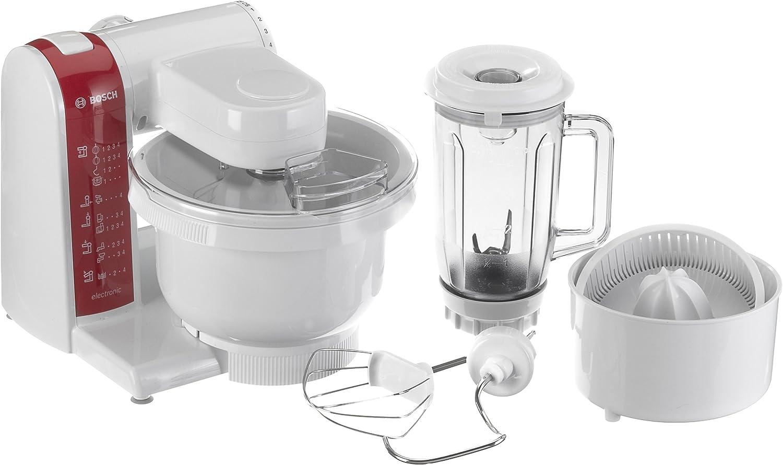 Bosch MUM4640, Rojo, Blanco, 4110 g, 265 mm, 265 mm, 305 mm, 220 - Robot de cocina: Amazon.es: Hogar