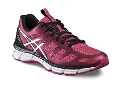 Asics Gel Chart 3 Womens Running Trainers/Shoes-Fuchsia-6.5