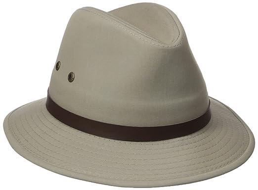 0ce656b9fccc31 Stetson Men's Oxford Safari Hat, Khaki Large at Amazon Men's ...
