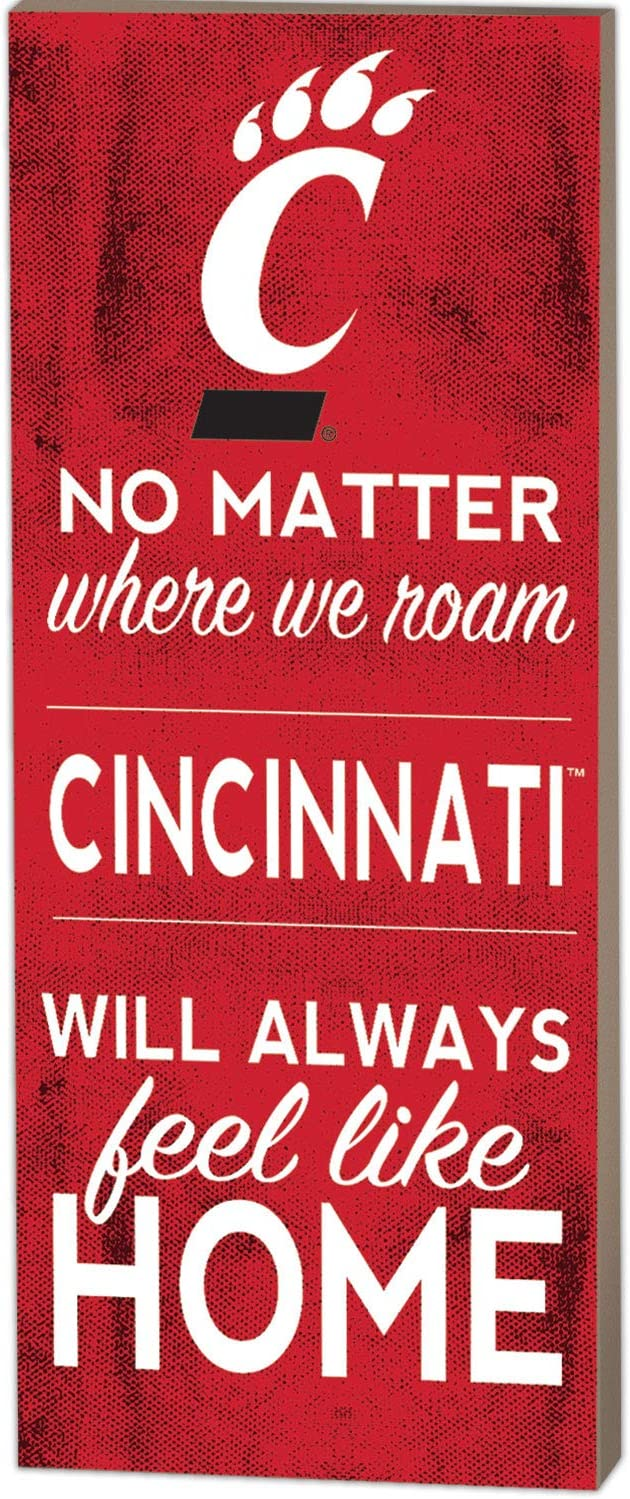 KH Sports Fan 7x18 No Matter Where Cincinnati Bearcats