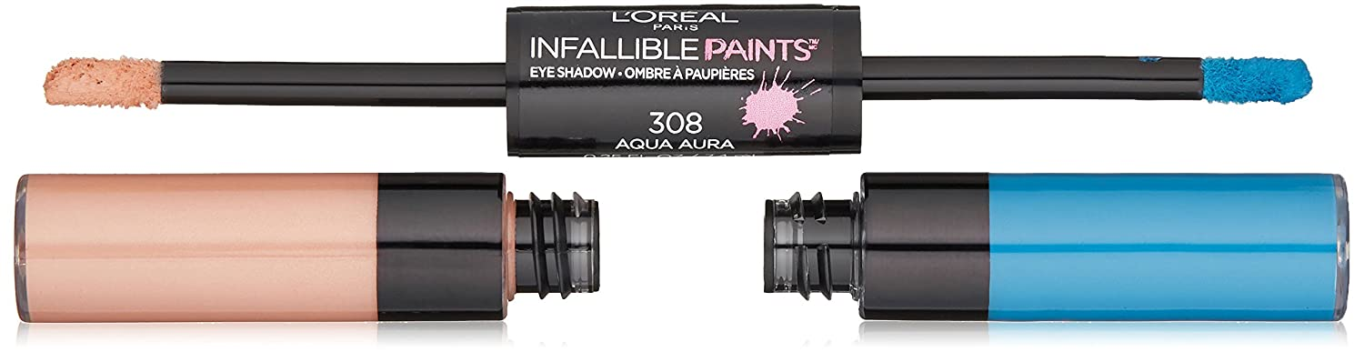 L'Oreal Paris Infallible paints eyeshadow aqua aura, 0.25 Fl Oz L' Oreal Paris