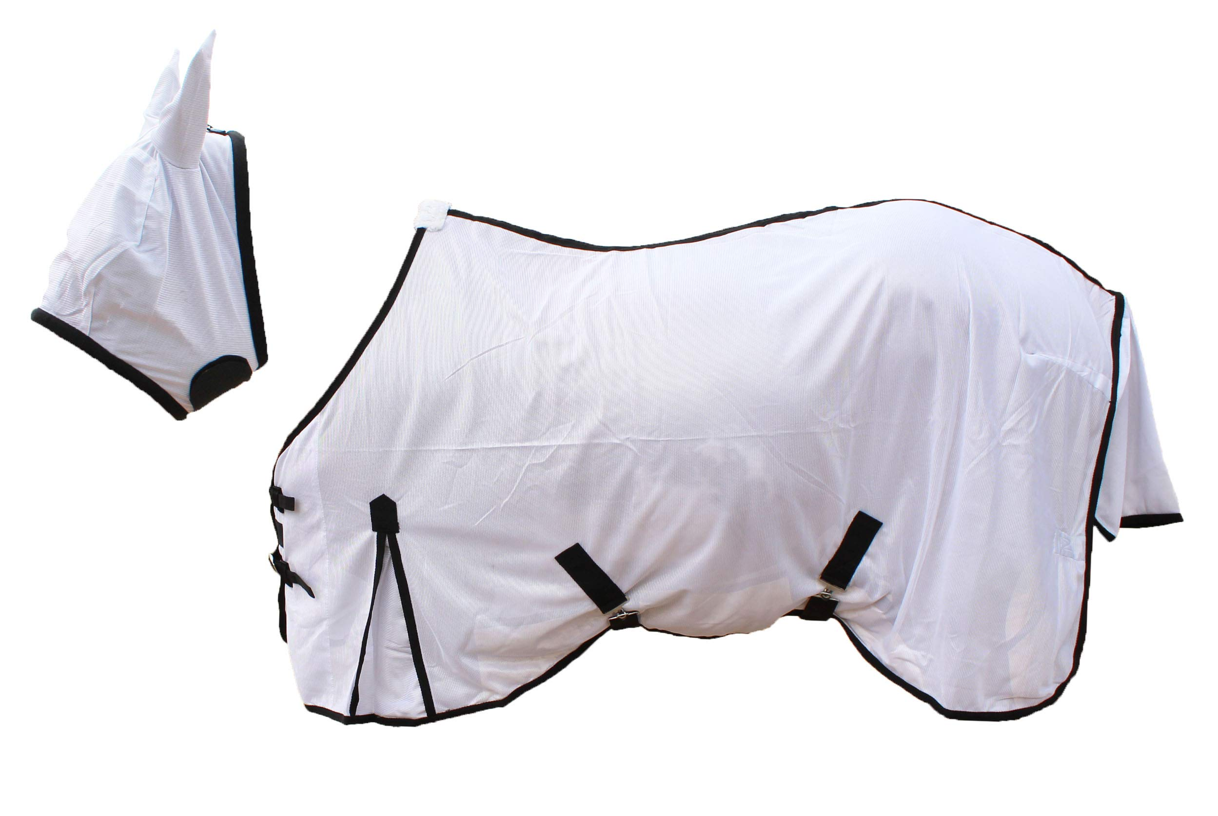 CHALLENGER 80'' Horse Fly Sheet Summer Spring Airflow Mesh UV 73TB01 by CHALLENGER