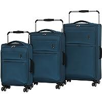 it luggage World's Lightest Debonair 3-Piece Set 8-Wheel Spinner