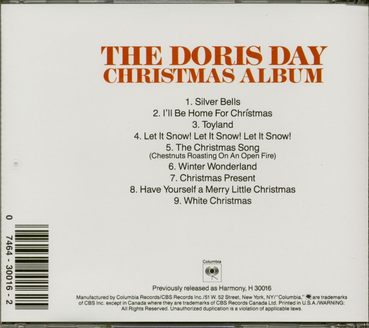 Doris Day - The Doris Day Christmas Album - Amazon.com Music