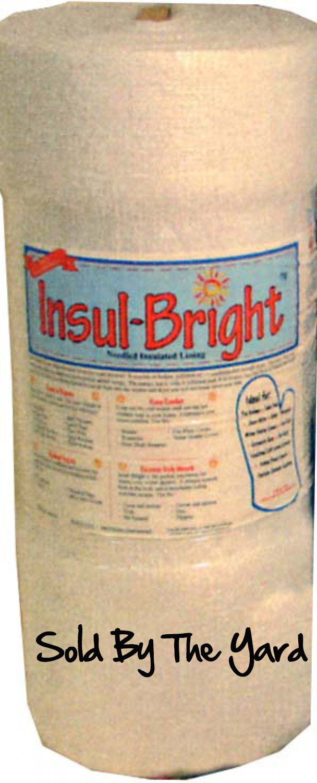 Insulbrite Thermal Batting 22 x 1 Yard The Warm Company