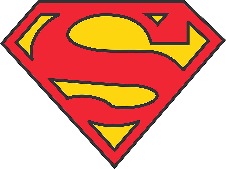 SUPERMAN Logo Vinyl Sticker Decal