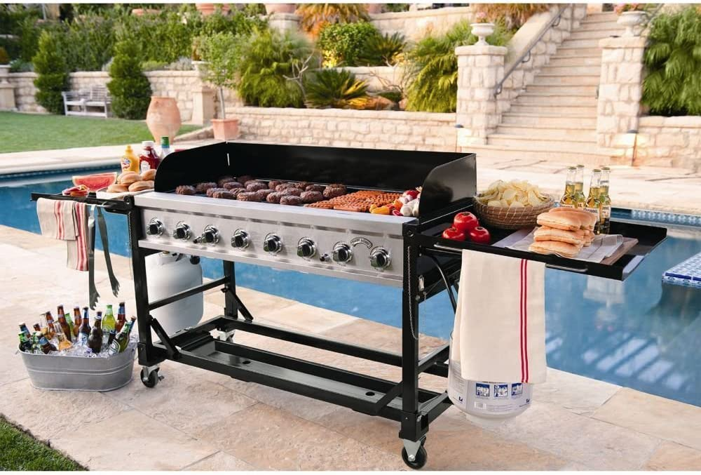 BBQ Grill Commercial Grade Large for Events