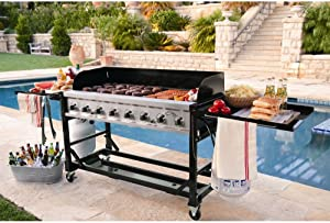 Commercial Grade Large BBQ Grill for Events 8 burners 1ST Class