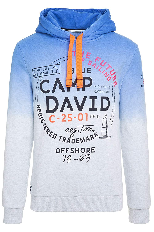 2020 neueste art Detaillierung Camp David Hoodie Sweatshirt mit Farbverlauf