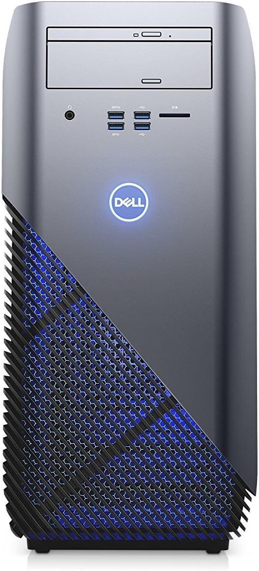 2018 Newest Dell Inspiron 5675 Gaming Desktop Computer (AMD Quad-Core Ryzen 5 1400 up to 3.4 GHz, 8GB DDR4 RAM, 128GB SSD + 1TB HDD, AMD Radeon RX 570 4GB, DVD, Windows 10) (Renewed)