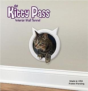 The Kitty Pass Wall entry cat door Cat Door Tunnel Cat Wall door Pet & Amazon.com : The Kitty Pass Interior Cat Door Hidden Litter Box ... Pezcame.Com
