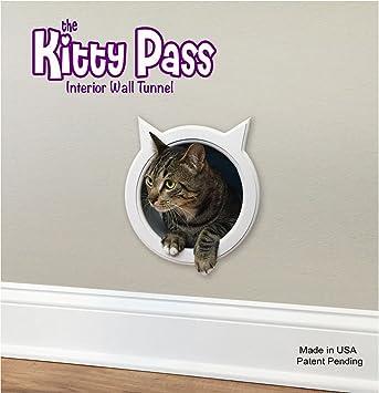 The Kitty Pass Wall entry cat door Cat Door Tunnel Cat Wall door Pet & Amazon.com : The Kitty Pass Wall entry cat door Cat Door Tunnel ... Pezcame.Com