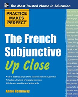 Amazon grammaire 450 exercises textbook key advanced practice makes perfect the french subjunctive up close practice makes perfect series fandeluxe Images