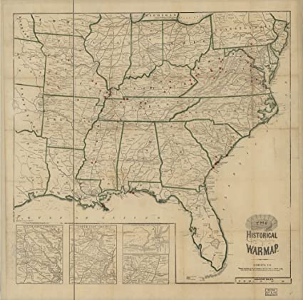 Amazon.com: Vintage 1855 Map of Williams\' commercial map of ...