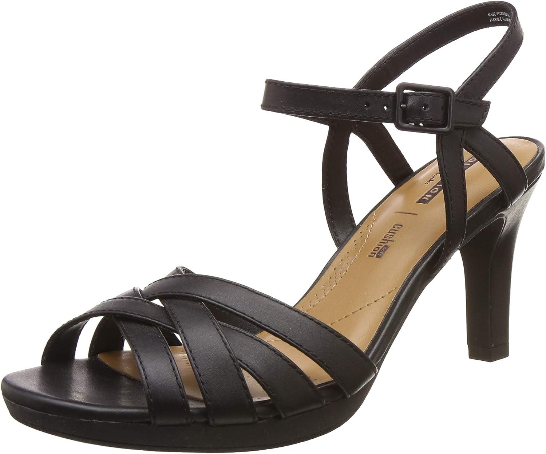 Adriel Wavy Ankle Strap Heels