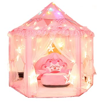 Dealgadgets Princess Castle Kids Play Tent Children Large Indoor and OutdoorPlayhouse Perfect Birthday Chistmas Gift Presents  sc 1 st  Amazon.com & Amazon.com: Dealgadgets Princess Castle Kids Play Tent Children ...