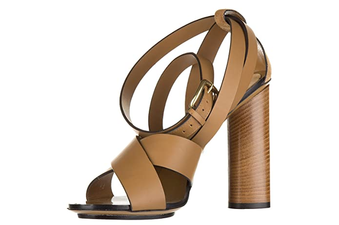 bfcf9846d Gucci Women's Leather Heel Sandals lifford Maori Brown UK Size 7 381393  AEMT0 2613: Amazon.co.uk: Shoes & Bags