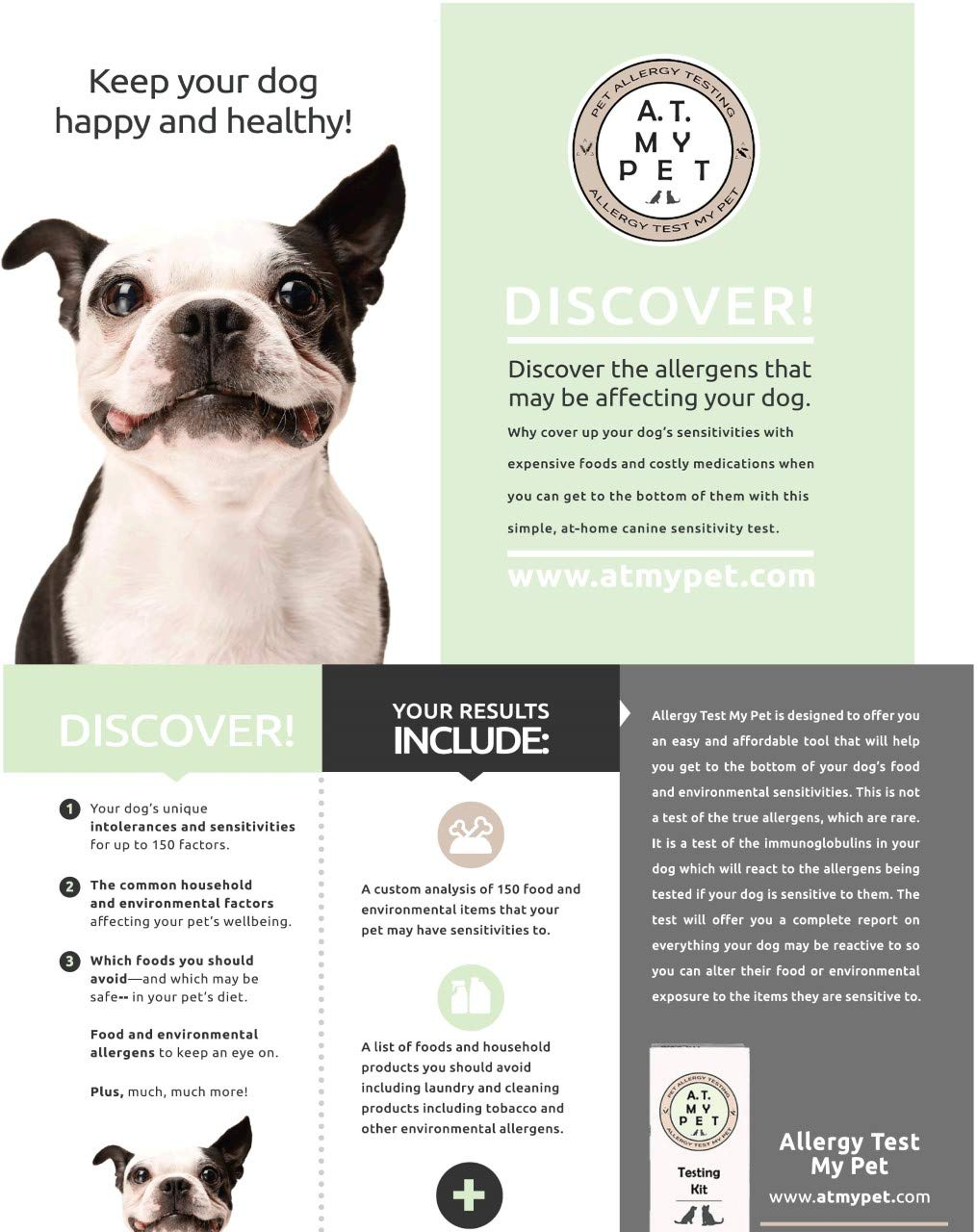 Allergy Test My Pet for Small Dogs by Allergy Test My Pet