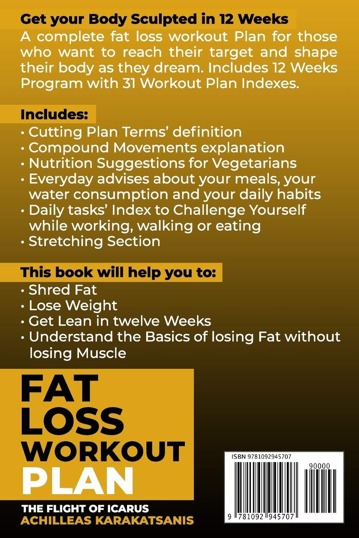 A weight loss workout plan