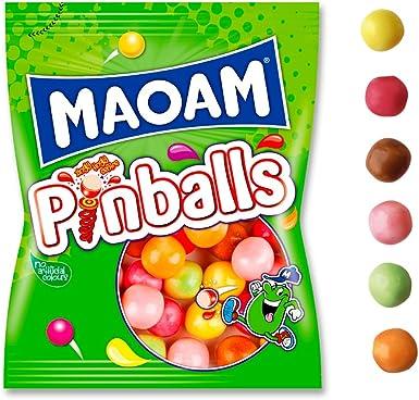 Haribo Maoam Pinballs Caramelos - 160 gr, pack de 12: Amazon.es: Alimentación y bebidas
