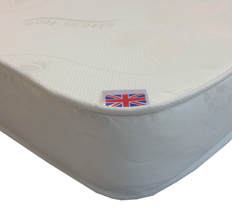 Colchón doble de espuma de viscoelástica, de 16 cm de grosor Código del producto SF0068, espuma con efecto memoria, 4ft6 Double Mattress (135cm x 190cm): ...