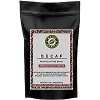 Decaf Coffee Beans ( Daily Roasted Award Winning Coffee Beans) (Aeropress-Preground Medium Fine, 1kg)