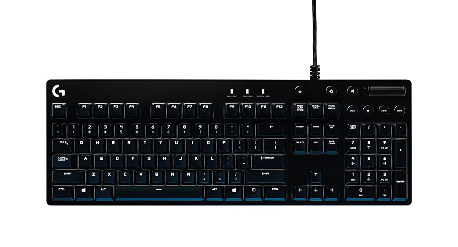 f8336756ff6 Logitech G610 Orion Brown Backlit Mechanical Gaming Keyboard: Amazon.co.uk:  Computers & Accessories