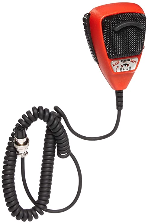 Noise Canceling Power Mic CB/Ham Radio 4 pin Astatic RD104E-4B Road Devil  (302-10036)
