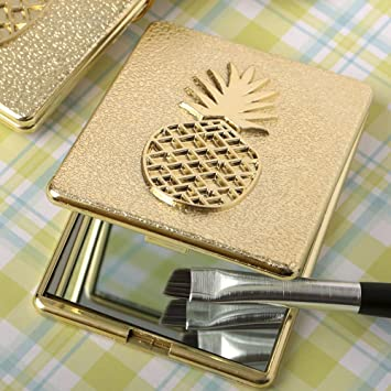 eb8860dbfa Amazon.com  Pineapple Themed Warm Welcome Collection Compact Mirror ...