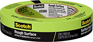 "Scotch Painter's Tape 2060-1A 2060 Masking Tape, 0.94"" Width, Green"
