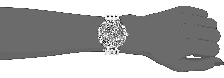 Michael Kors Women s Darci Silver-Tone-Tone Watch MK3404