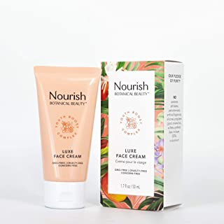 product image for Nourish Botanical Beauty | Luxe Face Cream | GMO-Free, Cruelty Free, 100% Vegan (1.7oz)