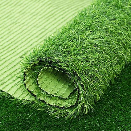 Outdoor Artificial Realistic Artificial Turf Rug Realistic Artificial Grass Rug Professional Outdoor Grass Mat For Dogs Indoor Outdoor Garden Lawn Landscape Synthetic Turf Mat 20mm Thick Green Amazon Co Uk Kitchen Home