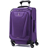 Travelpro Maxlite 4 Expandable 21 Inch Spinner Suitcase, Purple