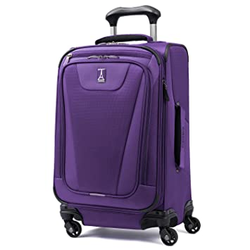03428e0584c5 Travelpro Maxlite 4 Expandable 21 Inch Spinner Suitcase, Purple
