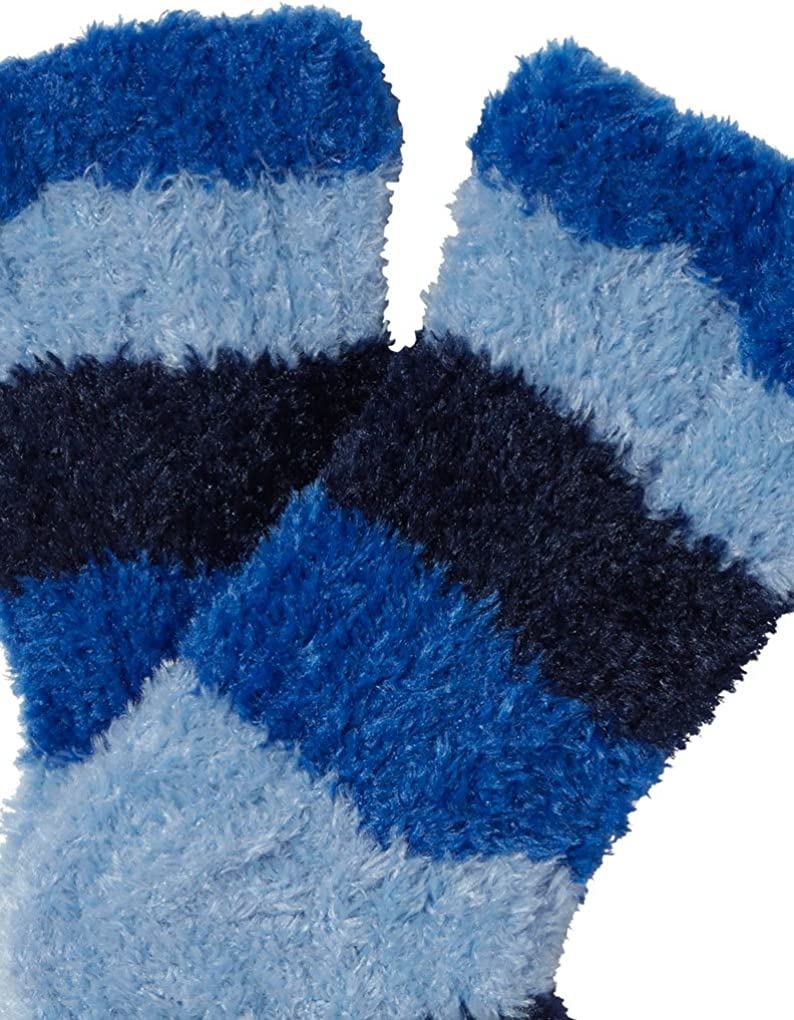Slenderella BS162 bleu femme rayées Moelleux bedsocks Taille Unique