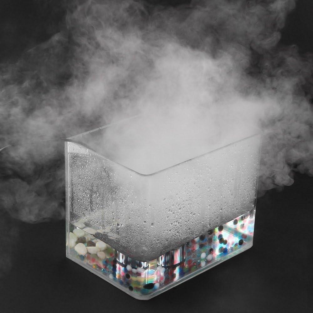 FORNORM 350 ml//h Mini 20 mm Hoja de atomizaci/ón Mist Maker Humidificador Fogger Atomizador Fogger Fuente de Agua Estanque M/áquina de Niebla Atomizador para SPA con Adaptador de Corriente