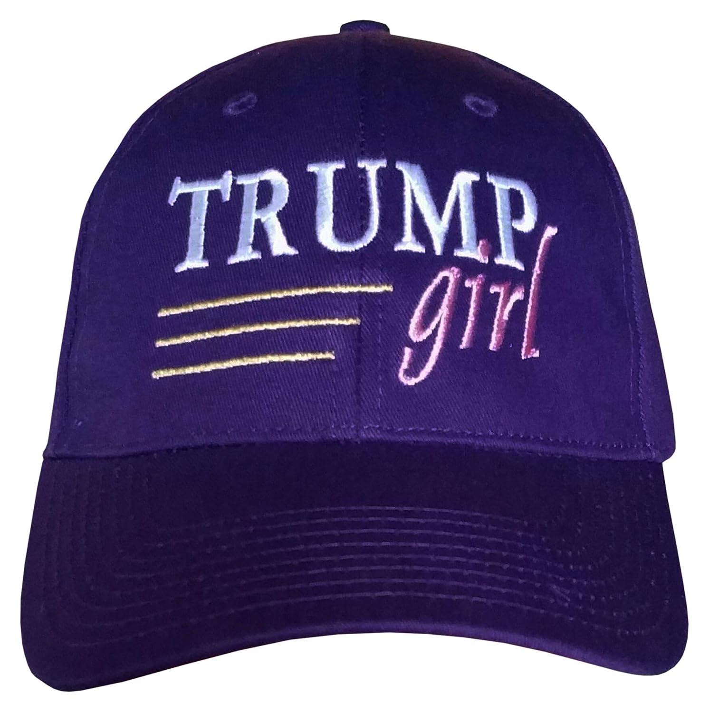 2e4be84e872 Amazon.com  Treefrogg Apparel Trump Girl Hat ~ Distressed Black Trump Hat  (Distressed Black Hat - Trump Girl)  Clothing
