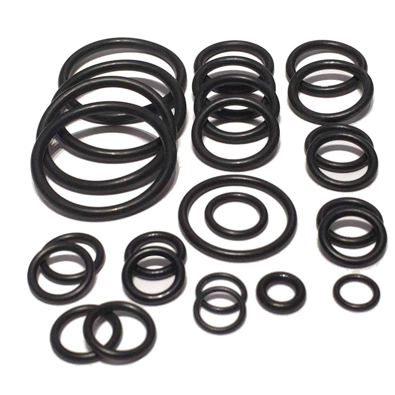 Cooling system radiator hoses O ring set for BMW E90 E91 E92 E93 328i Xi 330i N52 51 engines
