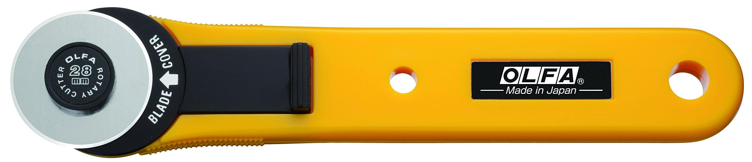 OLFA 9551 RTY-1/G 28mm Straight Handle Rotary Cutter by OLFA