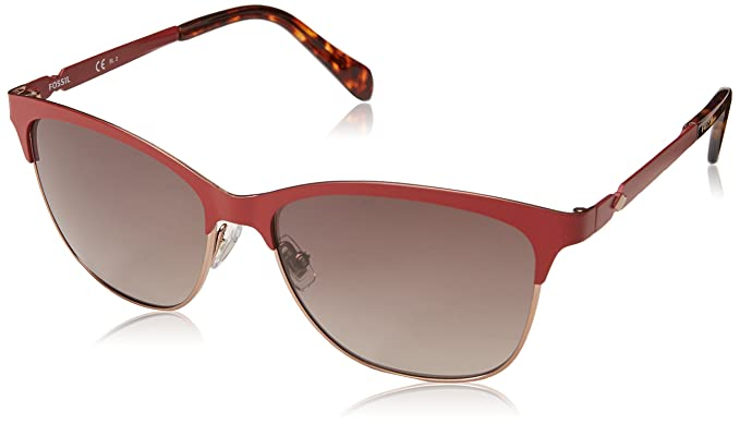 5ee64c3fd27 Image Unavailable. Image not available for. Color  Fossil Women s Fos 2078 s  Square Sunglasses ...
